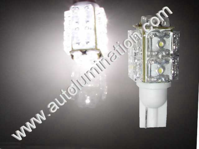 921 Map Courtesy Interior Reverse Upper Stop Light LED Bulbs