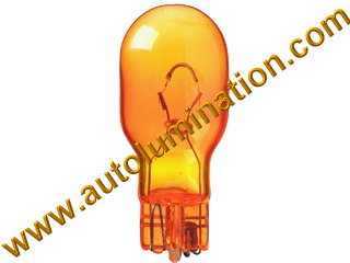 921 Natural Amber Glass Bulb  921na