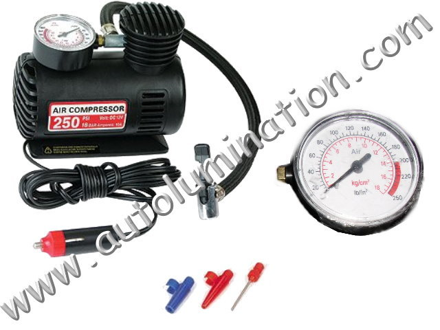 250 psi 12 volt Emergency Air Compressor