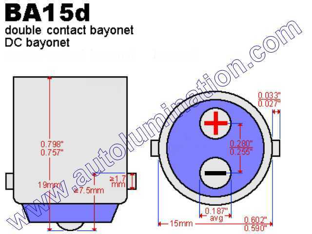 ba15d_wm automotive car truck light bulb connectors sockets wiring double door contact wiring diagram at bakdesigns.co
