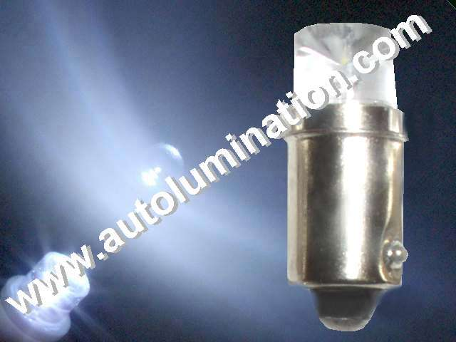 Ba9s 6 Volt Replaces #1906, 1850, 1847, 47, 755, 1866, 44, 239, 1810, 1888, 51, 55 , 55 Led Bulb