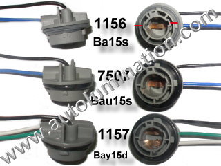 bayonet_plastic_wm 1157 2057 7528 2357 bulb connectors tail light turn signal parking 1157 wiring diagram at soozxer.org