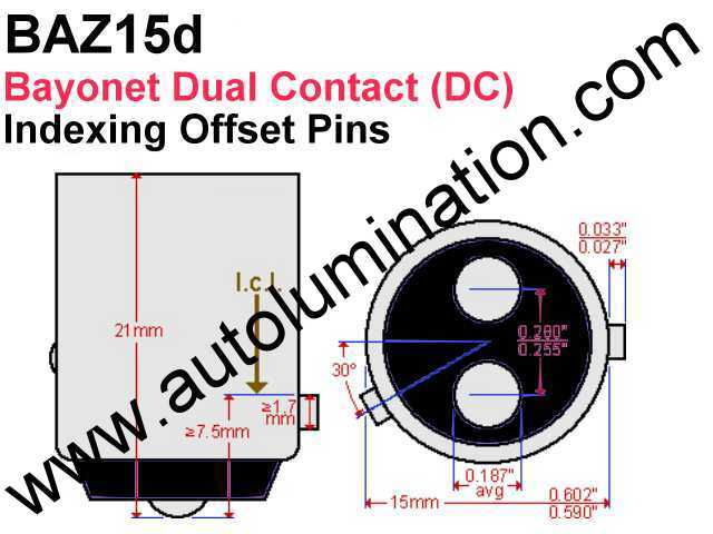 baz15d_wm 1157 2057 7528 2357 all led bulbs tail light turn signal parking brake 1157 bulb wiring diagram at crackthecode.co