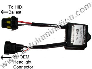 Canbus HID Headlight Bulb Out Warning Canceller
