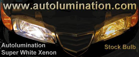 Xenon Super White Headlights Autolumination