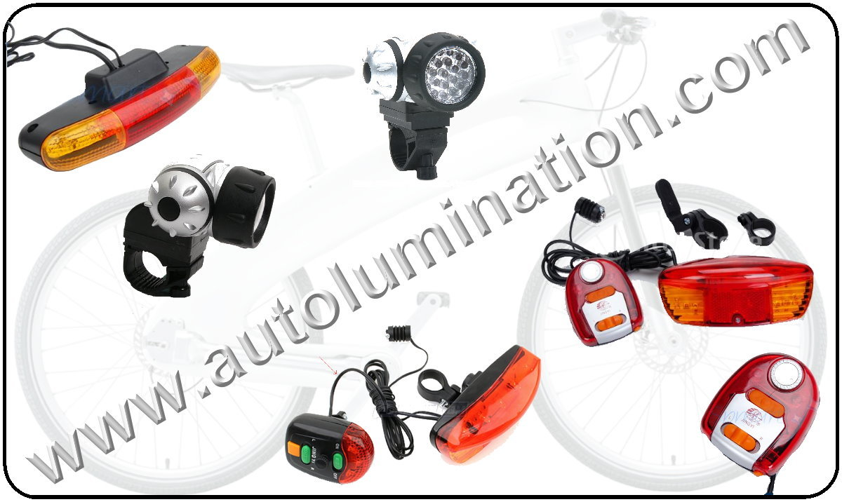 LED bicycle lights, Bicycle led headlights, bicycle led tail lights