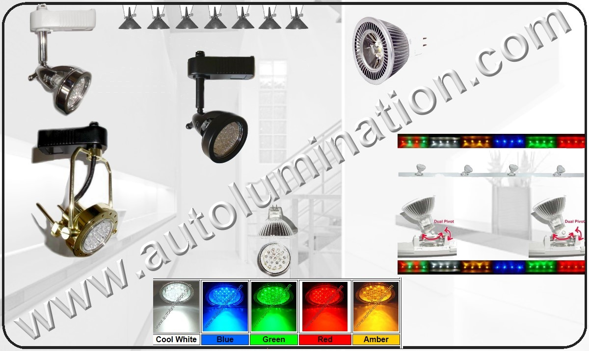 LED Track Lights, LED Track Light Heads, Led Track Lighting, Led Compact Track Lighting
