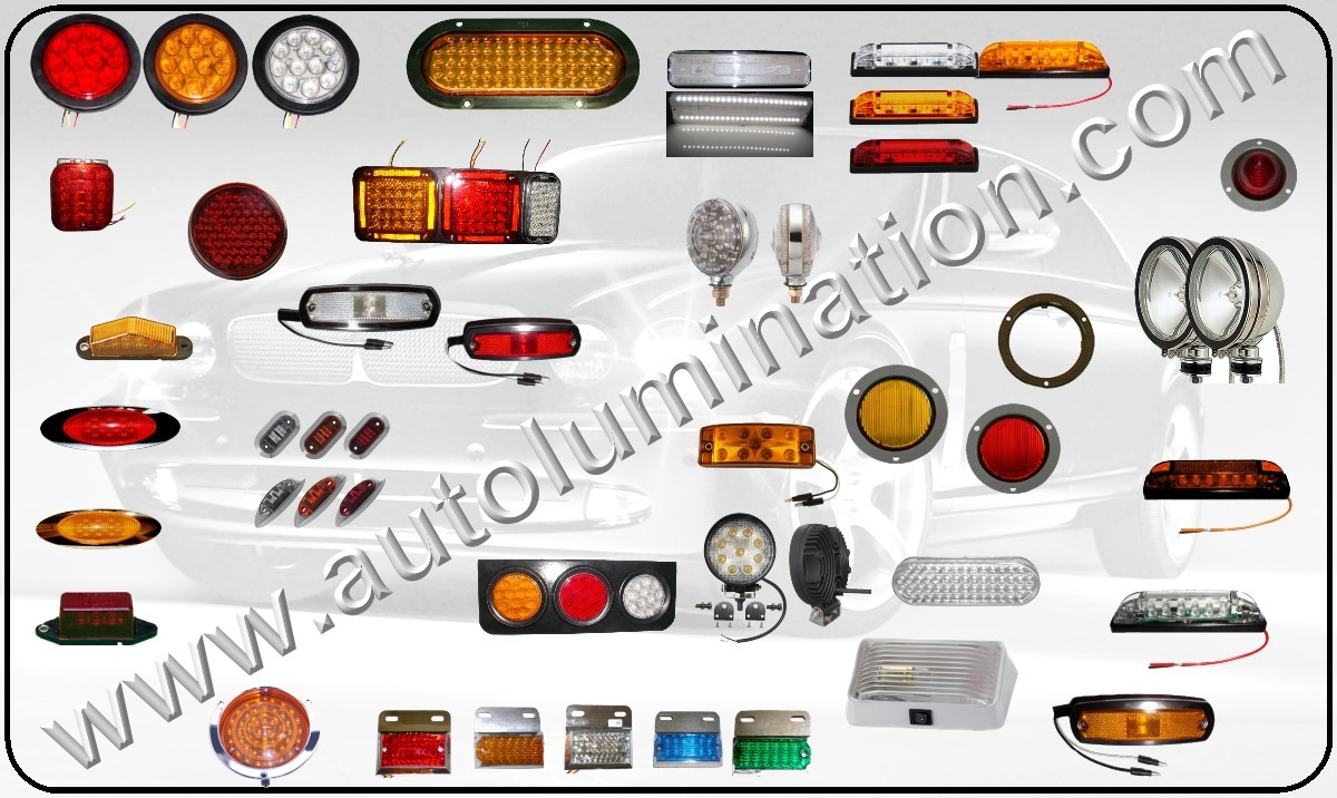 Collage Led Truck Light Fixtures Wm on red led light strips for cars