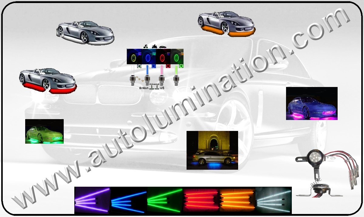 Neon Under Body Kits, Neon, Under Body, LED, Light Tubes, LED Light Tubes