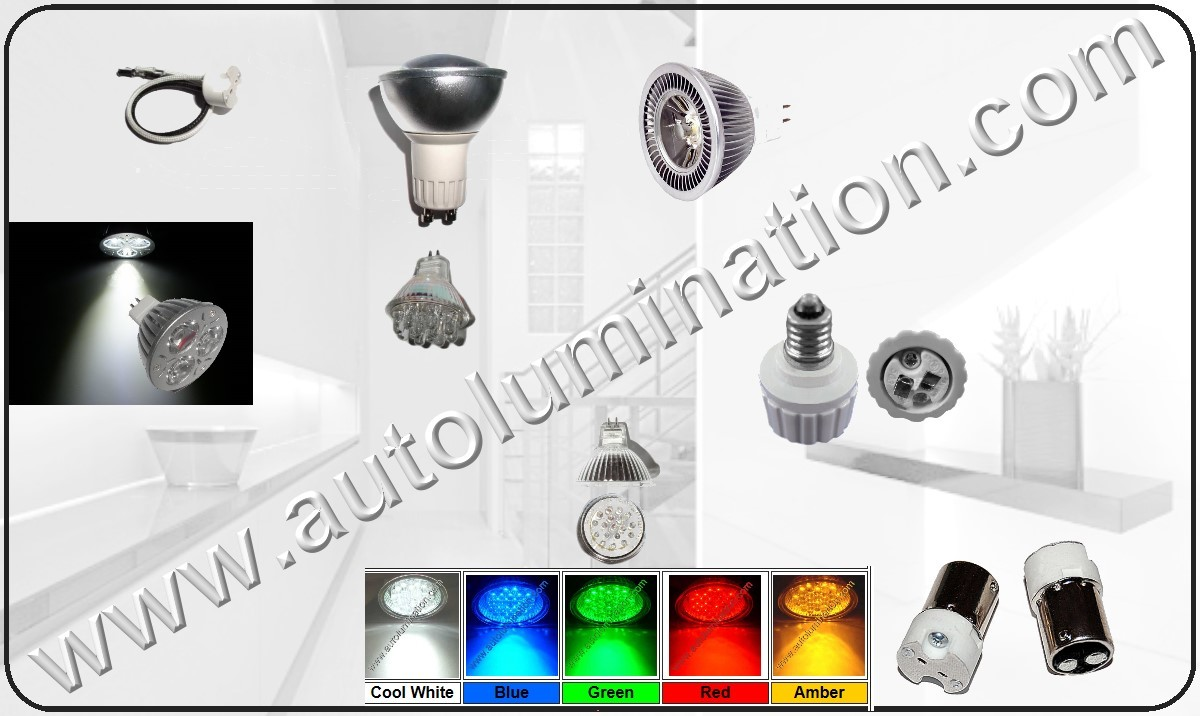 MR16 Led Replacement Light BUlbs, GU10 Led Bulb, MR11 Led replacement bulbs
