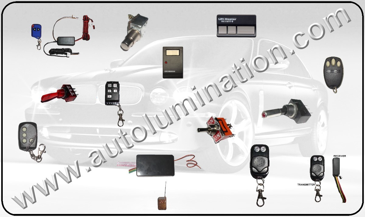 Programmable Remote Control, Garage Remotes, Remote Controls, 12 Volt Remote Switches,Remote Controllers, Remote Switches