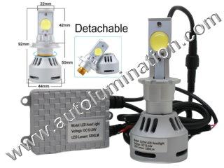 9005 P20d HB3A 6000K Super White LED 5g 5th generation Cree High Powered Headlight Bulb