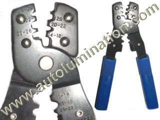 Headlight Terminal Contact Wire Crimping Tool