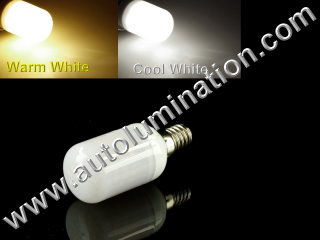 E17 LED 3.5W 24 SMD Appliance Lights Bulb Lamp AC110-120v Replaces WB36X10003
