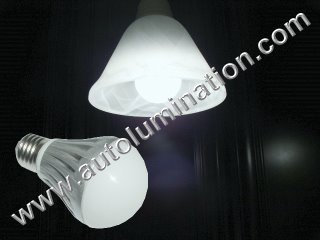 E27 Led 6 Watt Light Bulb 6000K White