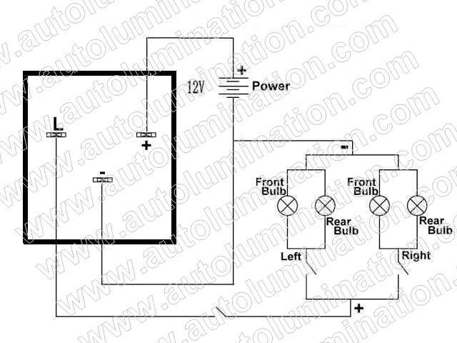 led flashers electronic flashers led protectors load ep28 led flasher schematic