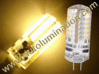 3 watt 2 Pin G4 Bi-Pin Led Bulb Replaces 891 7371 7373 7382 Warm White
