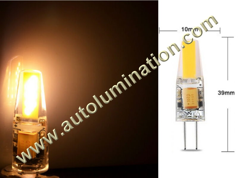 2 Pin G4 Bi-Pin Led Bulb 12v Dimmable Replaces 891 7371 7373 7382 Warm White