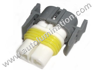 800 Series Right Angle 862 881 886 889 894 896 898 899 H27 / W2 Female  Headlight Socket Connector Pigtail
