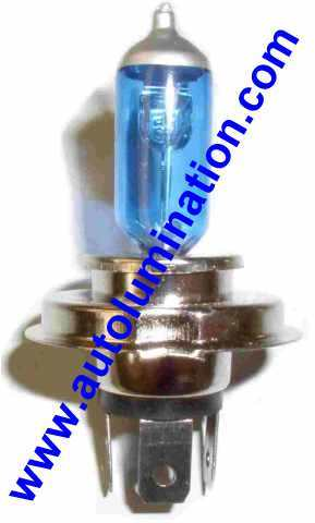 H4 9003 P43t 6 volt 6000K Super White Xenon Plasma Headlight Bulb