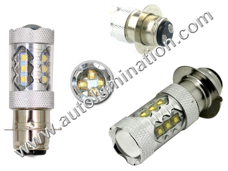 H6M PX15d P15d-25-1 6 Volt 80w Watt Led