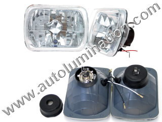 H6054 H6053 H6052 6054 6053 6052 Halogen Sealed Beam Conversions Headlight