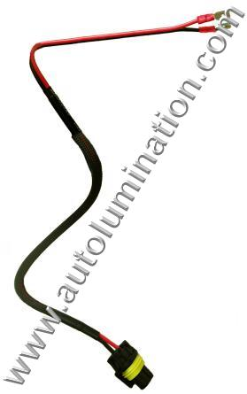h1 h3 HID Power Harness for Bulb Ballast