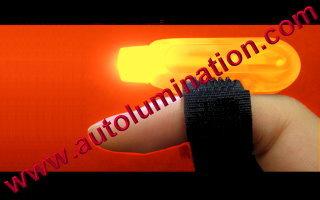 Led Finger Flashlights Red