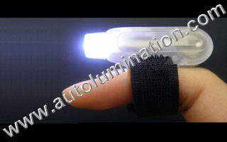 Led Finger Flashlights White