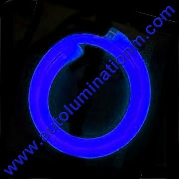 Flexible Neon LED EL Wire Tubing Blue