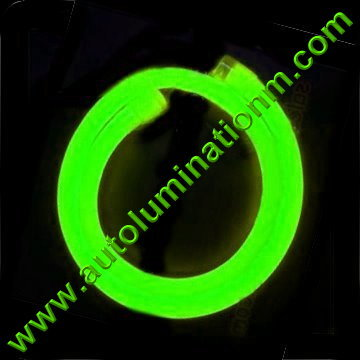 Flexible Neon LED EL Wire Tubing Green