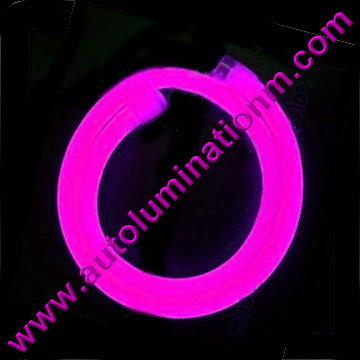 Flexible Neon LED EL Wire Tubing Pink