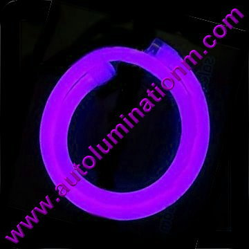 Flexible Neon LED EL Wire Tubing Purple
