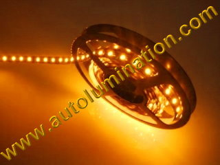 Flexible led light strips strings and bars lights autolumination 1 meter 5050 ip65 ip68 led strip amber 60ledsm aloadofball Image collections