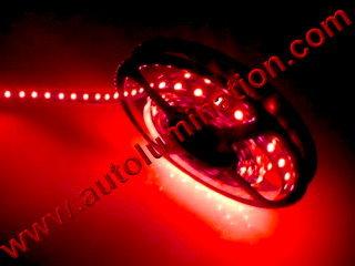 1 Meter 5050 IP65 IP68 Led Strip Red 60Leds/M