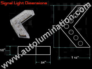 Sequential Mirror Led Kit