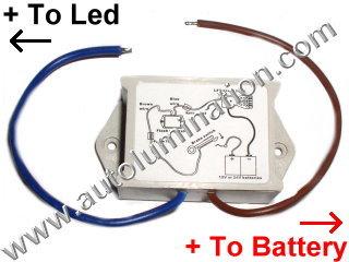 Flashing LED Brake Light Module