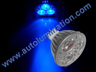 3 Watt Luxeon Led MR16 Spot Light Bulb