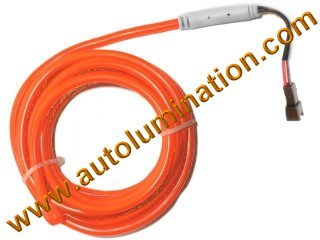Neon KPT EL Wire Tubing Orange