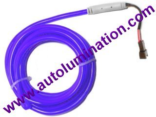 Neon KPT EL Wire Tubing Purple