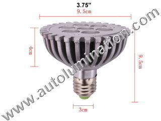 E27 Led 7w 7 watt  Light Bulb 6000K Cool White PAR 30 Flood