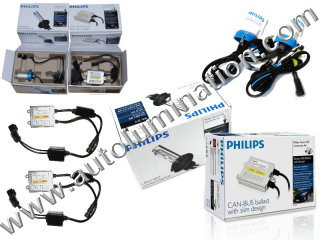 Phillips HID Headlgiht Foglight Kits