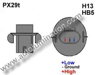 H13 Bulb Wiring - Machine Repair Manual H Light Plug Wiring Diagram on