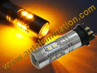 PW24W PW24WY Led DRL Turn Singnal Error Free Canbus BMW Bulb E70, E71, E83, E89, E90, E92, LC1, F07, F10