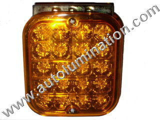 Truck Trailer RV Turn Signal Running Light Amber Led Light
