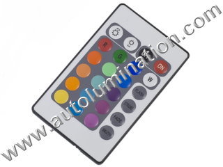 Led rgb controller 24 key remote