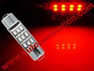 #211-2 212-2 212 211-2LL 214-2 578 T-3 FESTOON BULB DOUBLE END CAP BASE - 9SMT Led  T-3 Festoon,  Double End Cap Base,  #211-2
