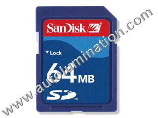 64MB SD CARD SanDisk 64 MB Memory Card Flash