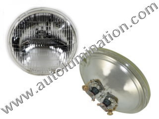 #4411-1 4411 4411SOT 12.8V/35W PAR36 SEALED BEAM TERMINAL BASE 12.8 Volt 35 Watt PAR36 Sealed Beam John Deere Tractor Headlight Bulb Sylvania Wagner