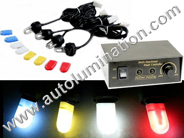 4 way Emergency Strobe Light